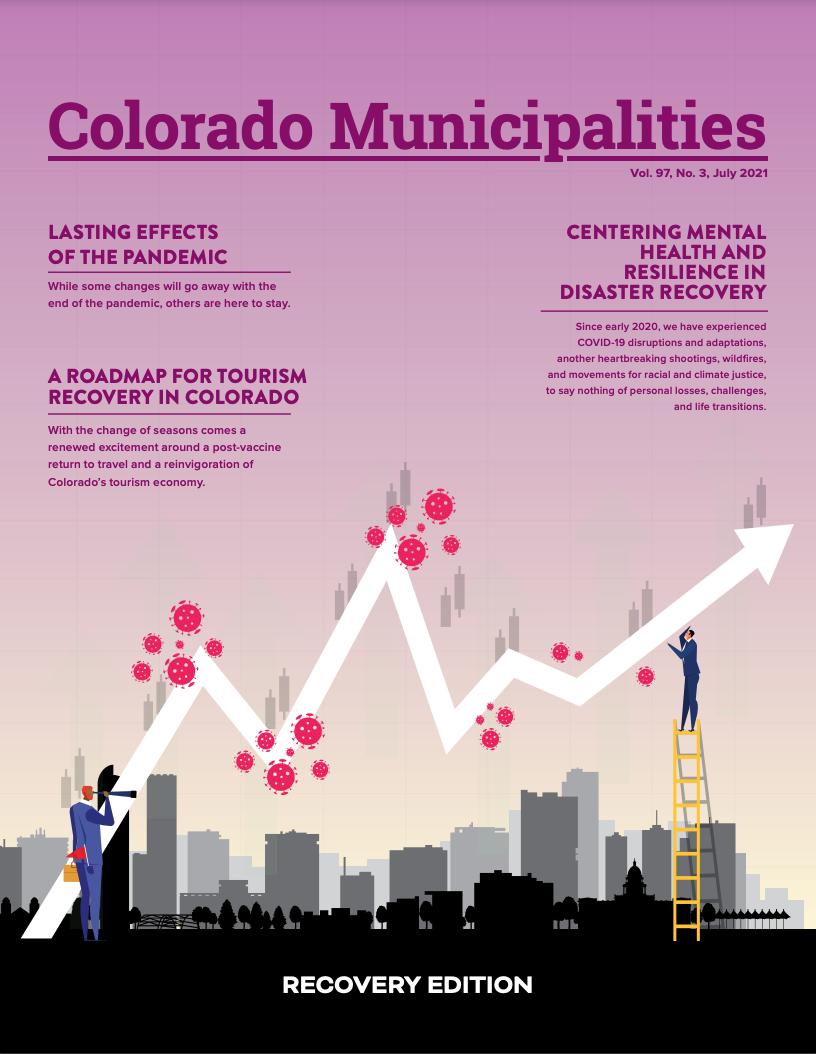 Colorado Municipalities July 2021