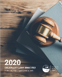 2020 Laws Enacted Cover Page
