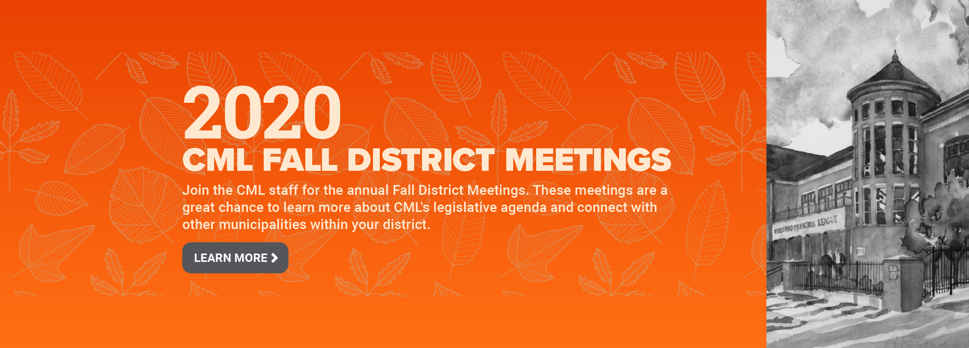 Join us for CML's Fall District Meetings!